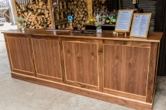 Our brand new (2017) 10ft Walnut Bar