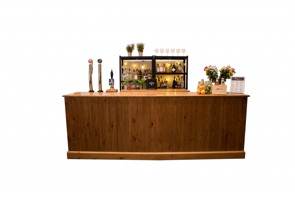 rustic mobile bar