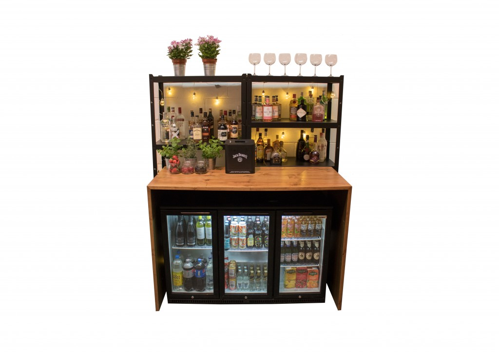mobile bar custom back bar
