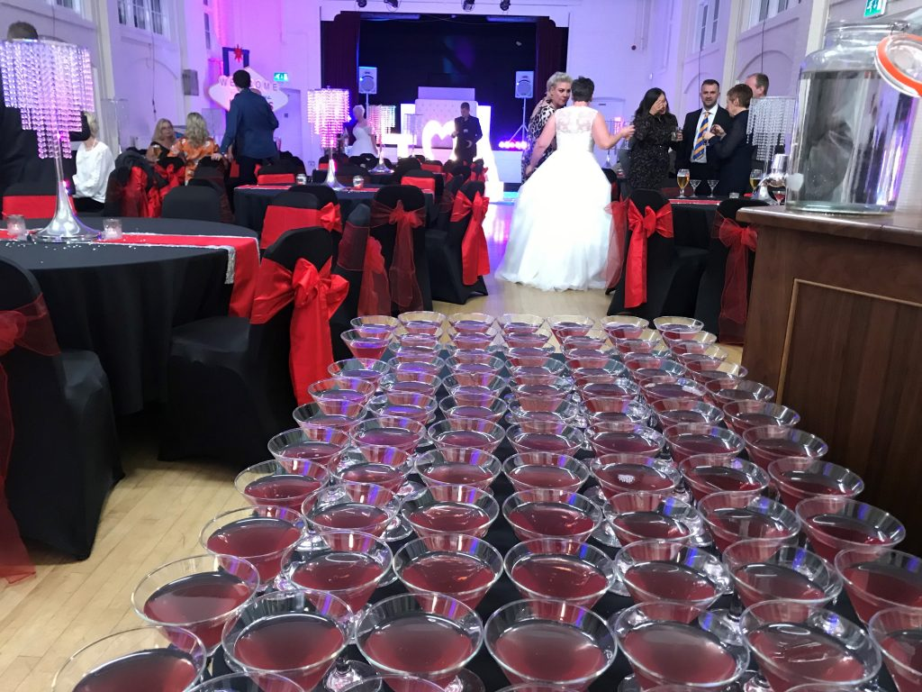 Hsaland Village Hall Mobile Bar Hire Wedding