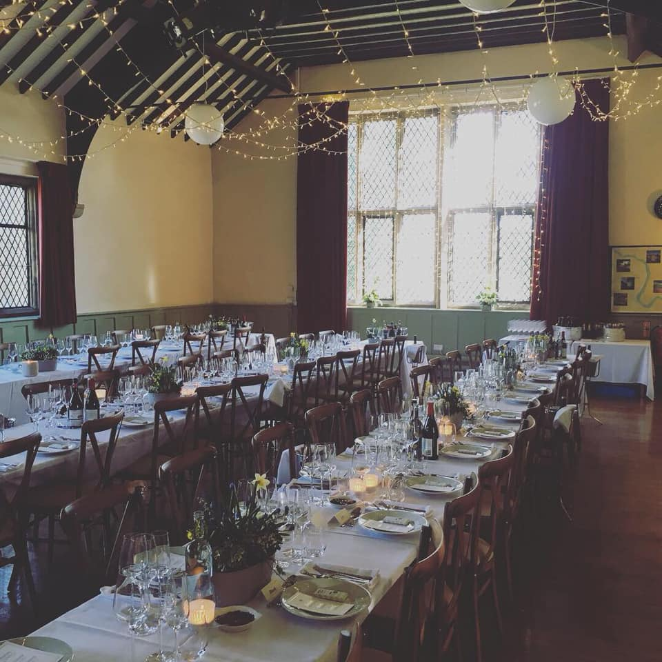 burnsall village hall wedding