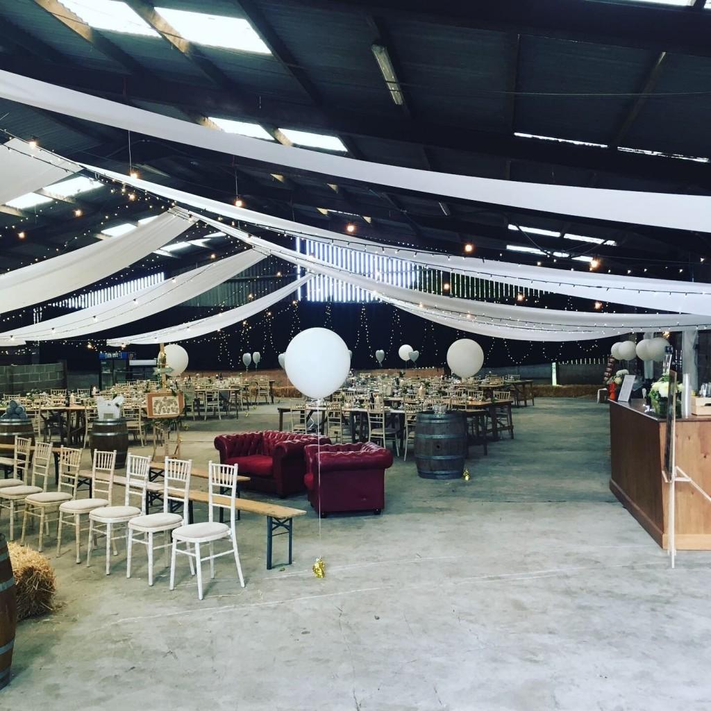 wedding bar whirlow hall farm